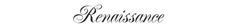 Renaissance Font Preview