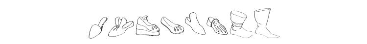 Renaissance Shoes Font Preview