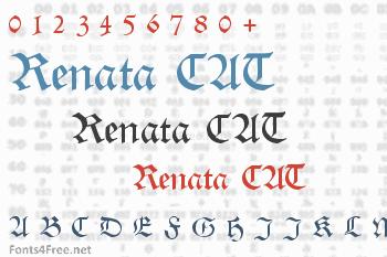 Renata CAT Font