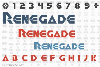 Renegade Font