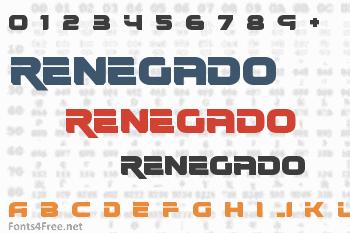 Renegado Font
