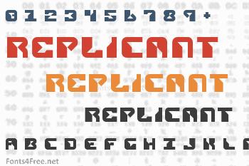 Replicant Font
