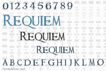 Requiem Font