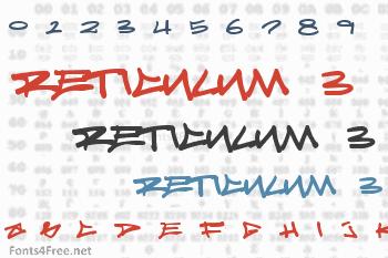Reticulum 3 Font