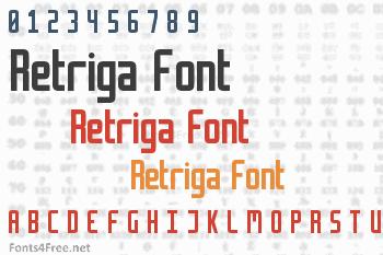 Retriga Font