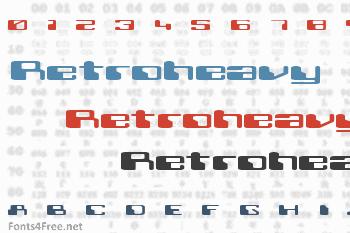 Retroheavy Future Font