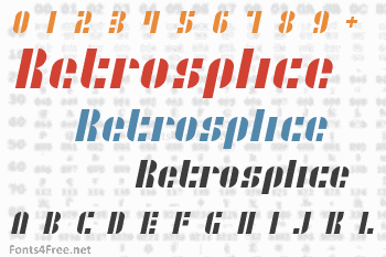 Retrosplice Font