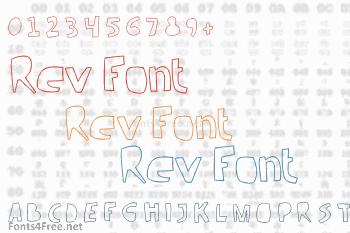 Rev Font