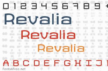 Revalia Font