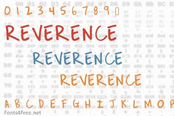Reverence Font