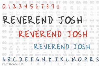 Reverend Josh Font