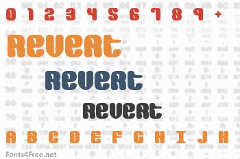 Revert Font