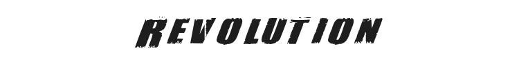 Revolution Font