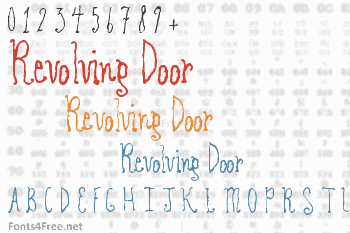 Revolving Door Font