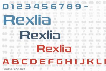 Rexlia Font