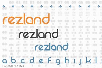 Rezland Font