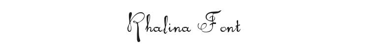 Rhalina Font Preview
