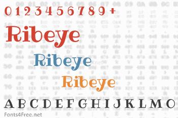 Ribeye Font