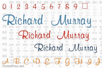 Richard Murray Font