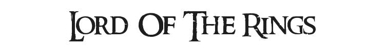 Ringbearer Font Preview