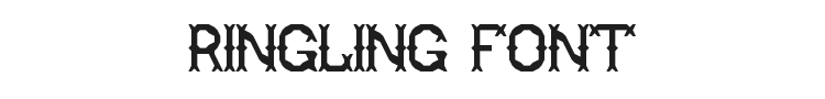Ringling Font Preview