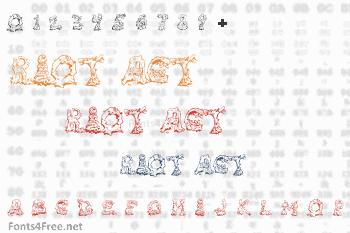 Riot Act Font