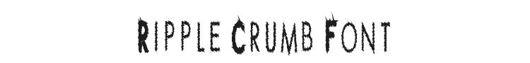 Ripple Crumb Font