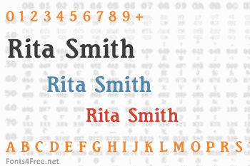 Rita Smith Font