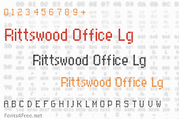 Rittswood Office Lg Font