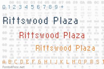 Rittswood Plaza Font