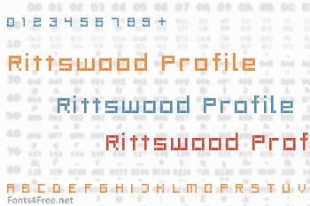 Rittswood Profile Font