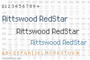 Rittswood RedStar Font