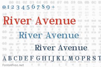 River Avenue Font
