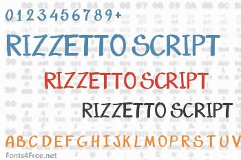 Rizzetto Script Font