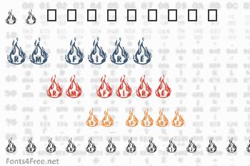 RM Fire Font