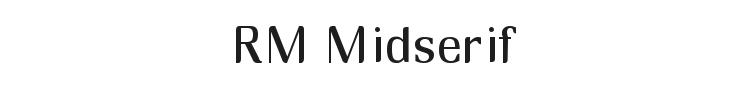 RM Midserif