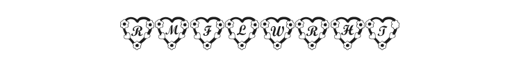 RMFlwrHt Font Preview