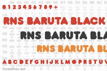 RNS Baruta Black Font