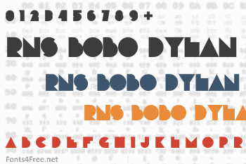 RNS Bobo Dylan Font