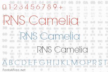 RNS Camelia Font