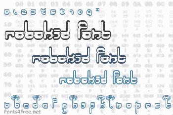 Robokid Font
