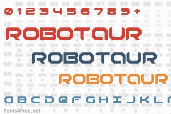Robotaur Font