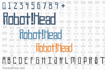 Robot!Head Font