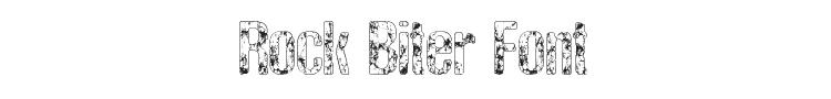 Rock Biter Font
