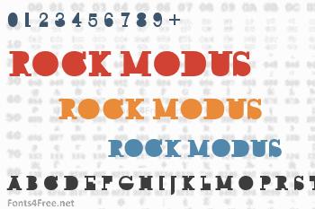 Rock Modus Font
