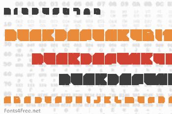 Rockdafonkybit Font
