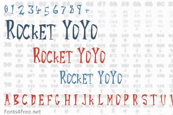 Rocket YoYo Font