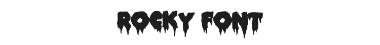 Rocky Font Preview