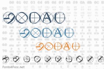 Rodau Buttons Font