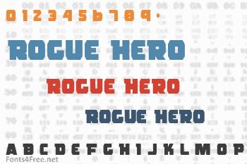 Rogue Hero Font